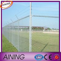 High quality and lowest price chain link mesh for the basketball court