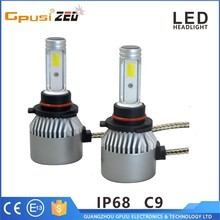 factory supply h1 h7 h8 h11 h13 9005 9006 car headlight h4 led headlight auto led with professional manufacturer