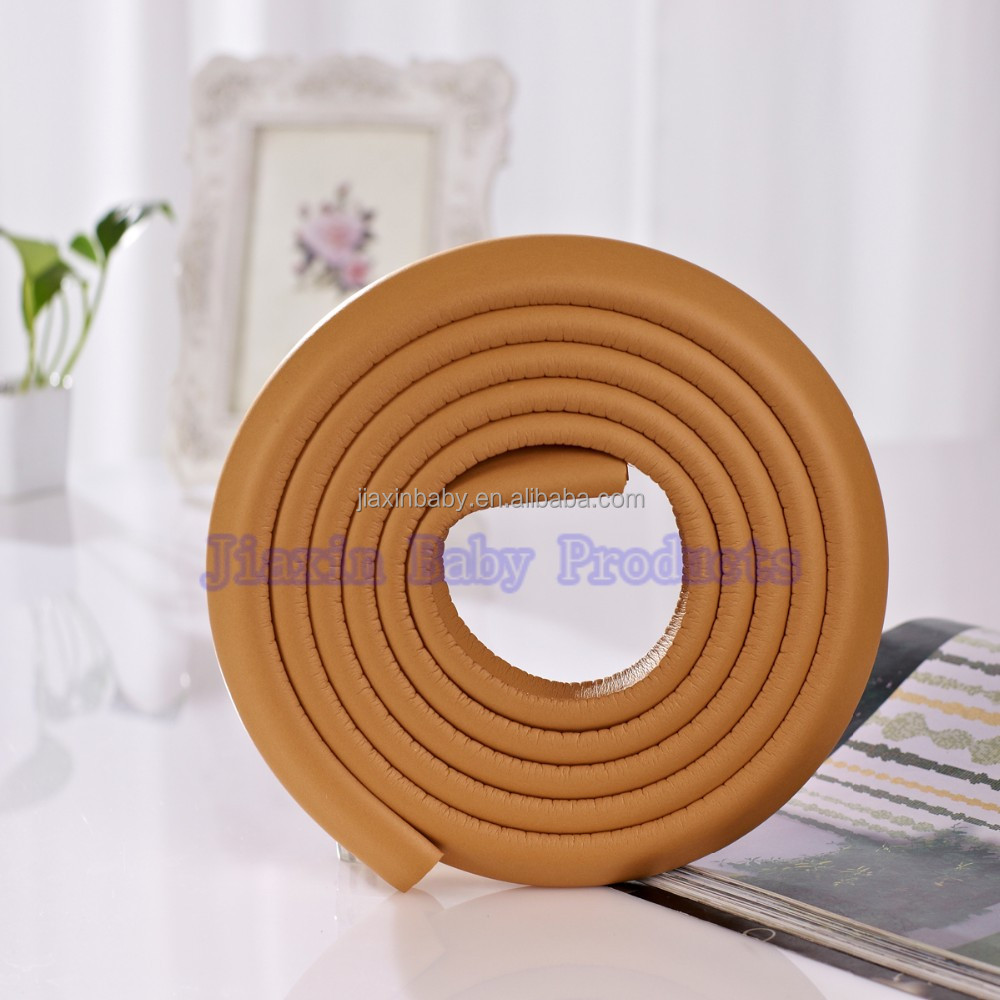 Mini rubber corner protector bumper strip for keep baby safe