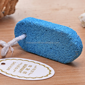Colorful blue pumice stone for toilet