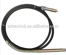 Concrete vibrator rod shaft hose with clamp Dynapac and Malaysia type