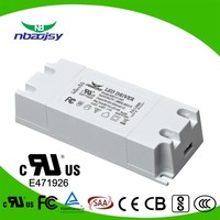 12watt 300ma 350ma led panel light Driver with UL FCC CB approved