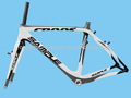 2014 glossy matt in 3K dengfu brand cyclocross carbon frame for cyclist in hot sales