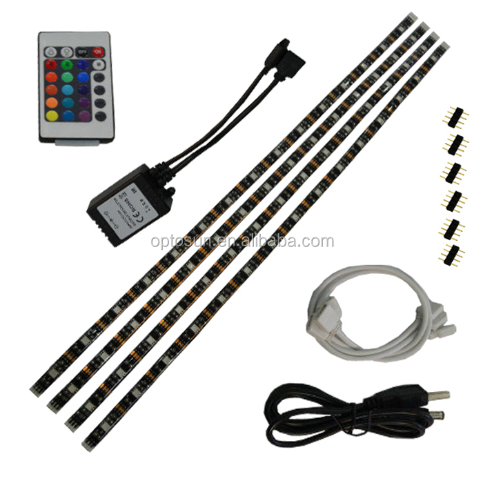 Wholesale RGB LED Strip Light 5v TV Mood Light Eliminates Eyestrain TV Backlight