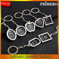 Mini Creative Metal Alloy Insert Photo Picture Frame Keyring llaveros Keychain Gift