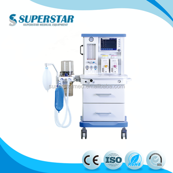 S6100 2017Factory Price and Best Selling Surgical and Hospical Vibration Anesthesia Machine