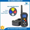 2016 Top Peted Dog Static Shock Vibra Training Remote Wireless Functional Waterproof Shock 2 Pet Dog Trainer with LED Display
