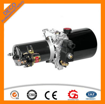 12V/24V micro hydraulic power unit for car lift