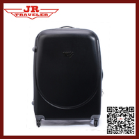 Fashion ABS PC trolley suitcase bag/trolley luggage with 4 spinner wheels