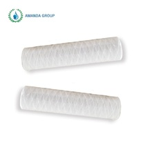 50Inch Long Industrial Water Filtration Using Wound Cartridge Filters