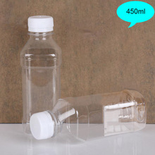450ml empty mineral water bottle disposable plastic drinking water bottle