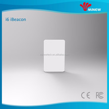 mini thinnest card ibeacon positioning service small broadcasting beacon