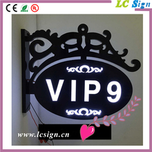Customized door number sign stainless steel material