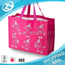 China manufacture cheap reusable shopping tote bags with custom printed logo