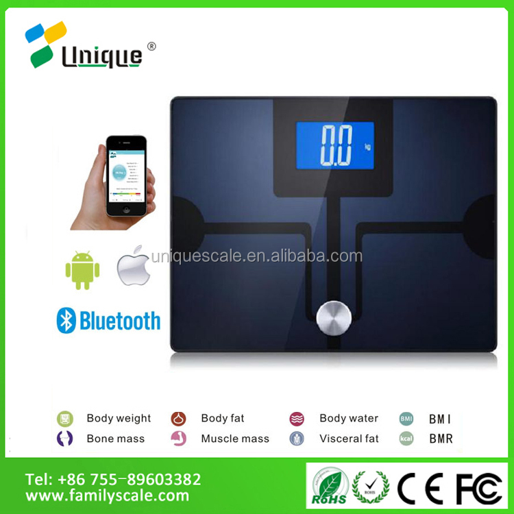 Advanced Models Digital Body Fat Composition Analyzer Bathroom weighing Scale For Healthcare
