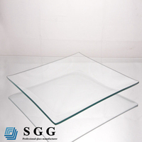 4mm 5mm 6mm 8mm 10mm glass crystal transparent solar panel glass
