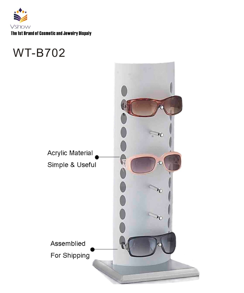 2015 fashion high quality sunglass display stand