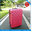 3 pcs travel hand trolley abs pc luggage sets