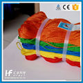 Company Packing Colored Polyester Natural Color Paper Twisted Twine For Gardening