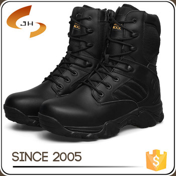 hot cool rubber sole genuine leather protective sports combat walker man american style military boot