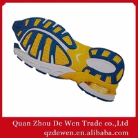 39# To 45# Latest Design TPR Adhesive Rubber soles for shoes Men MOQ 1200 Pairs