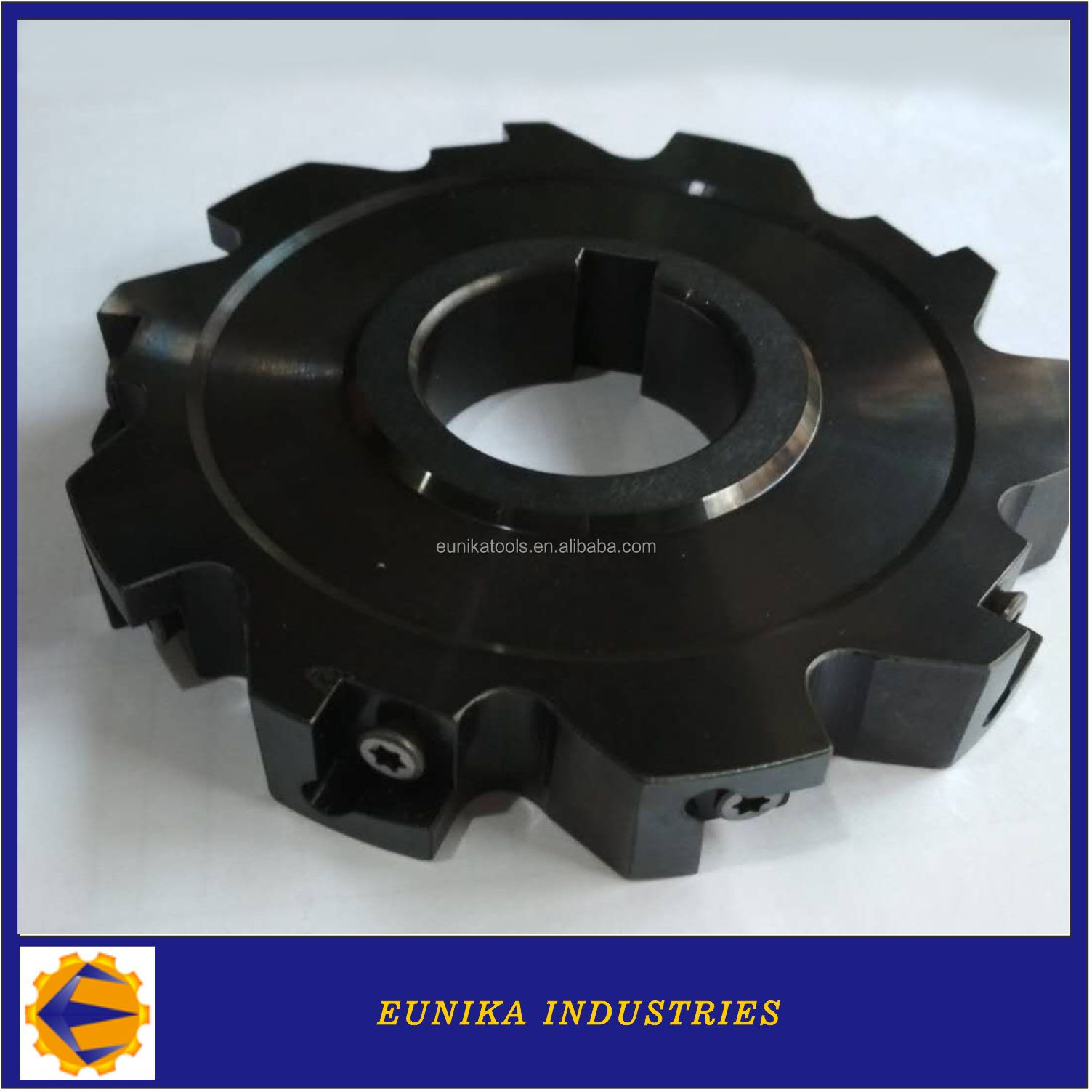 Customized 80-315mm Carbide Tipped Three Side and Face Mill