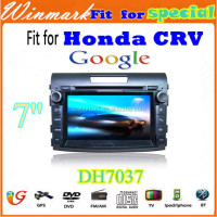 DH7037 in dash car dvd player for honda crv 2012- radio gps bluetooth tv rds 3g etc