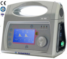 CL-102 CE approved hospital medical machine ICU ambulance transport emergency portable Ventilator