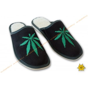 funny slippers-Embroidered Slippers