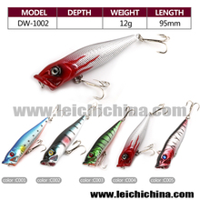 5 color per set 12g 95mm three directions hooks fishing tackle lure