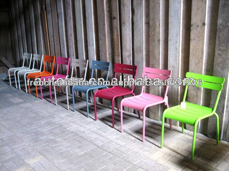 Chaises Luxembourg Color S Pont De Jardin En M Tal