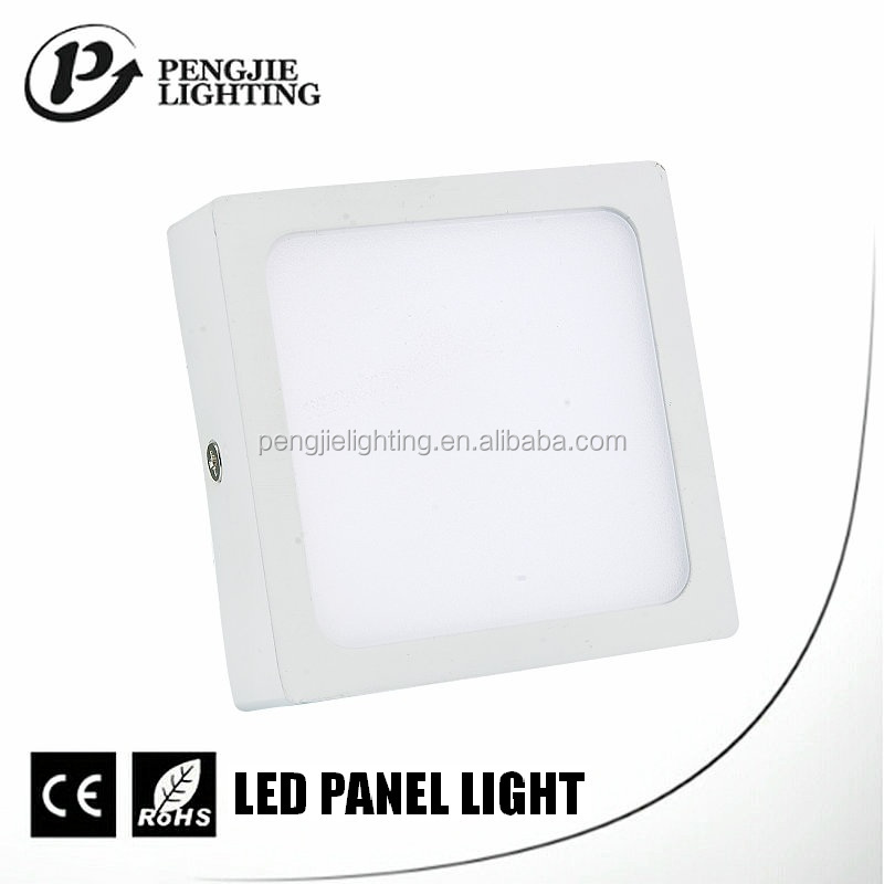 Hot selling battery powered indoor waterproof led panel light 8w