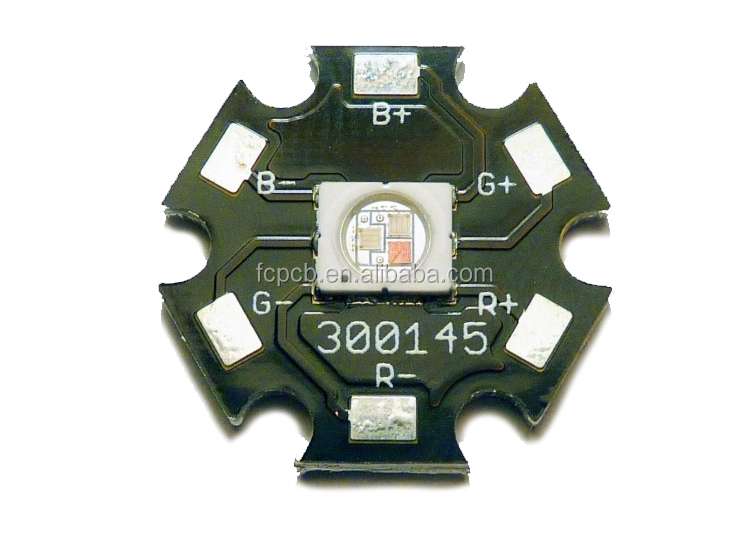 OemSingle 레이어 알루미늄 기반 MCPCB, 1 온스 인쇄 회로 보드 Mcpcb