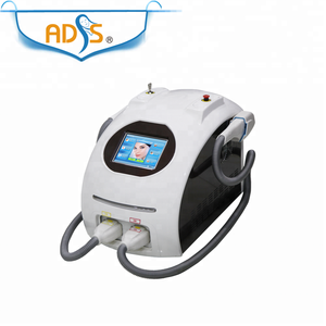 Portable SHR hair removal and skin rejuvenation machine