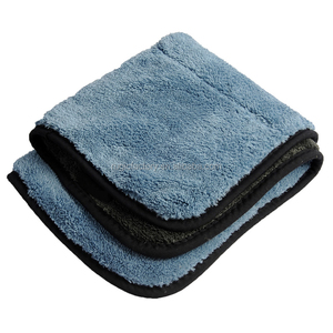 800gsm Super Thick Plush Microfiber Car Cleaning Cloths Polishing Detailing Brand name Towels 45cmx38cm