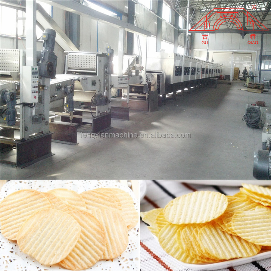 Baked Potato Chips Making Line