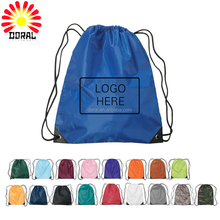 Polyester drawstring bag custom, Promotional waterproof drawstring bag, Blank drawstring bag