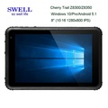 Window 10 Waterproof 8inch display NFC Reader Rugged Window Tablet Barcode tablet dual band wifi