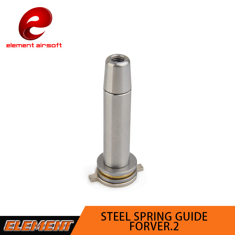 Element Steel Bearing Spring Guide for Airsoft AEG Ver.2 Gearboxes PO03006