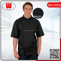 Waterproof Oilproof Short Sleeve Chef Uniform
