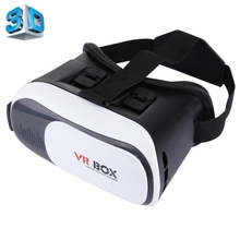 2017 Hot sale VR BOX 2.0 Version Universal Virtual Reality 3D Video Glasses for digital thermostat 3.5 to 6 inch Smartphones