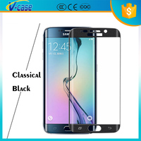 2016 Best quality Hot selling dark color privacy screen protector for samsung galaxy s6 edge