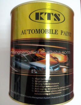 2K solid colors Guangdong car paint manufacturing company