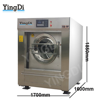 China maunfacturer national industrial commercial laundry washing machine,100kg full automatic industrial washing machine