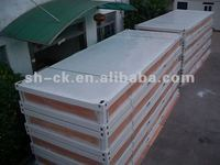 Flat Package of Container House/ Pavilion/ Steel Frame House