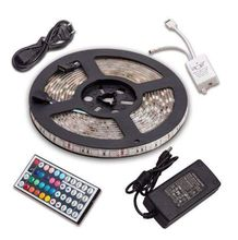 Smd ip68 Waterproof flexible silicon rubber led strip light 5050 60d <strong>rgb</strong> 12v
