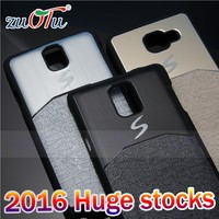 2016 popular design good quality pc leather mobile case for phone