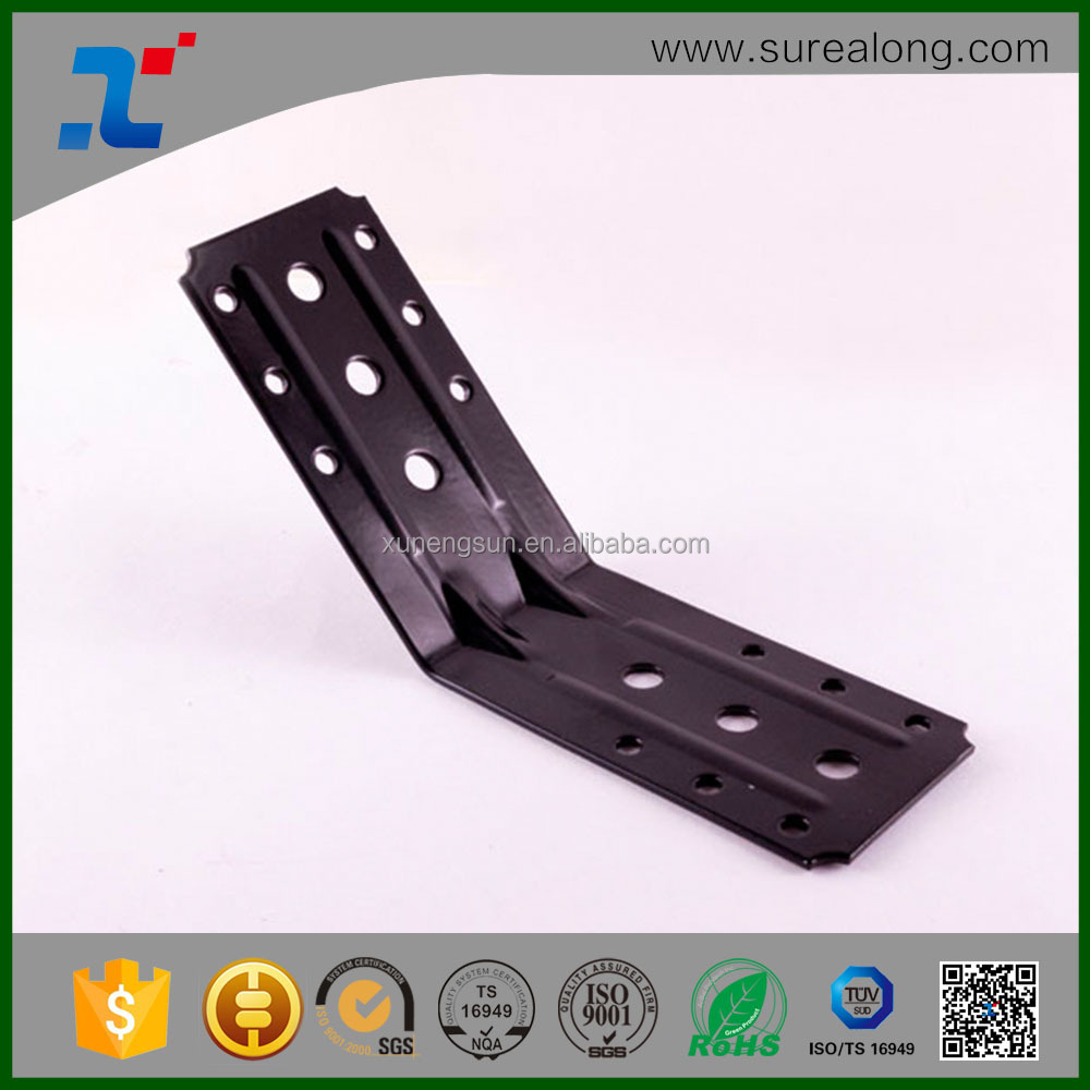 SUREALONG China Manufacturer oem steel 120 degree angle braces for furniture