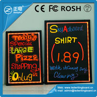 Colorful New invention 2015 acrylic Electronic illuminated led message board