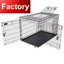 china supplier manufacture double door or single door dog cage